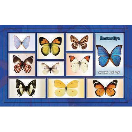 Наклейка бабочки 186-18