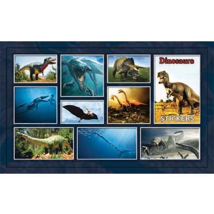 Наклейка динозавры 186-19