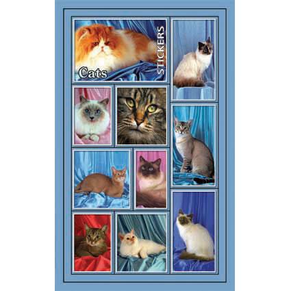 Наклейка кошки 187-19