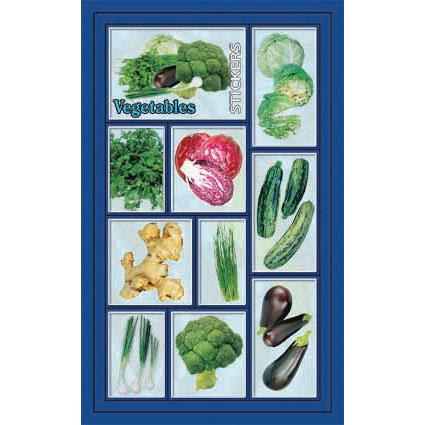 Наклейка овощи 186-07