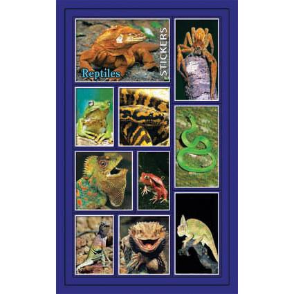 Наклейки рептилии 186-01