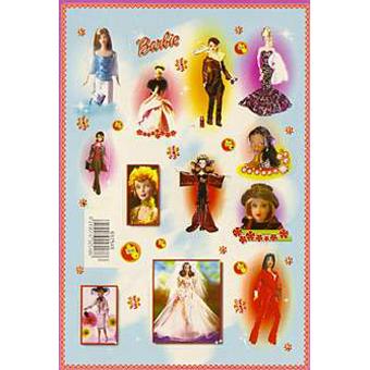Наклейка Барби 692548