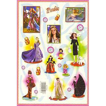 Наклейка Барби 692552