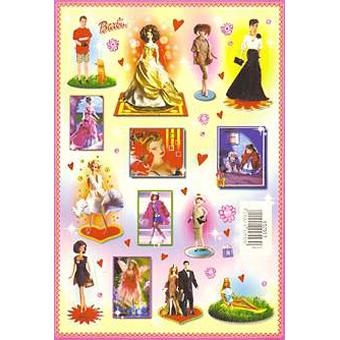 Наклейка Барби 692553