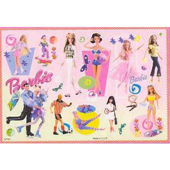 Наклейка Барби 80769